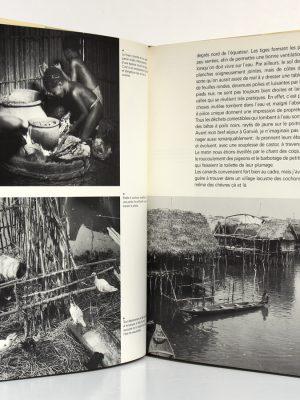 Maisons africaines René GARDI. Elsevier Sequoia 1974. Pages intérieures 1.