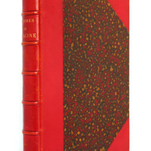 Œuvres de Racine. Laplace, Sanchez et Cie Éditeurs 1882. Reliure.