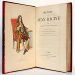 Œuvres de Racine. Laplace, Sanchez et Cie Éditeurs 1882. Frontispice et page titre.