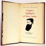 Contes, répliques et bons mots. Tristan Bernard. Le livre club du libraire 1964. Page titre.
