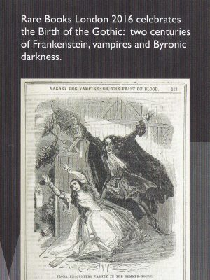 Rare Books London 2016 célèbre la naissance de la littérature gothique.