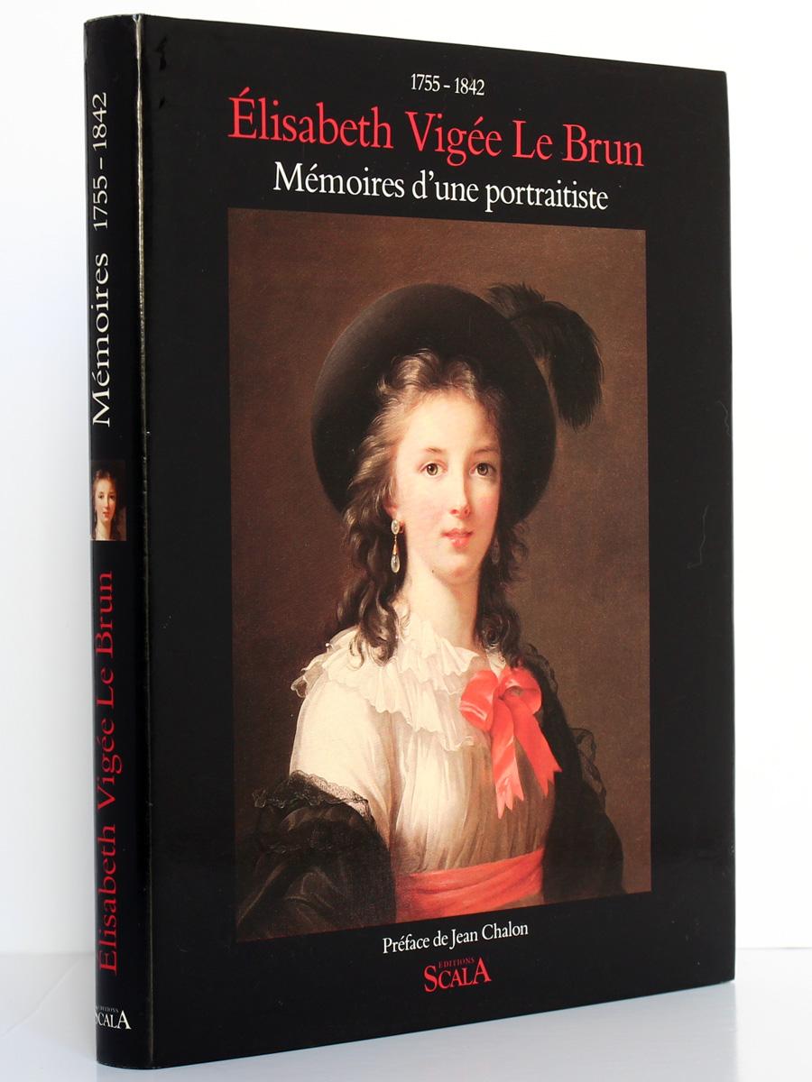 Mémoires d'une portraitiste 1755-1842. Élisabeth Vigée-Lebrun. Scala 1989. Couverture.