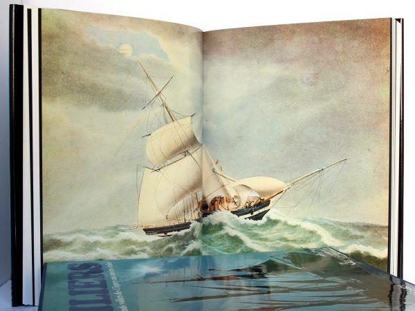 L'aventure des grands voiliers des Clippers aux navires écoles. Frank GRUBE, Gerhard RICHTER. Éditions Maritimes & d'Outre-Mer, 1977. Pages intérieures 2.