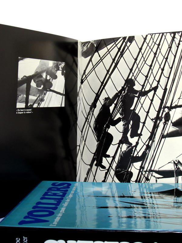 L'aventure des grands voiliers des Clippers aux navires écoles. Frank GRUBE, Gerhard RICHTER. Éditions Maritimes & d'Outre-Mer, 1977. Pages intérieures 3.