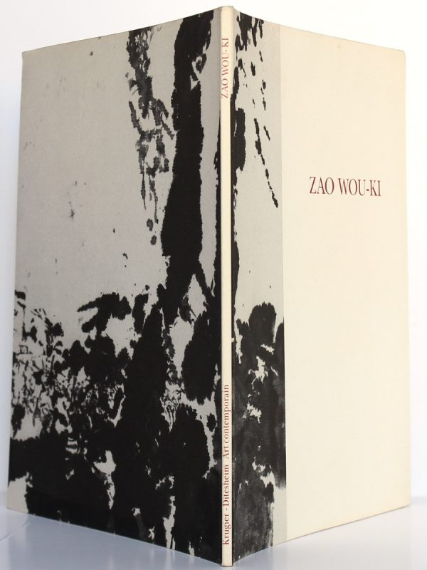 Zao Wou-ki Catalogue. Préface par Jacques CHESSEX. Galerie Jan Krugier 1990. Couverture : plats et dos.