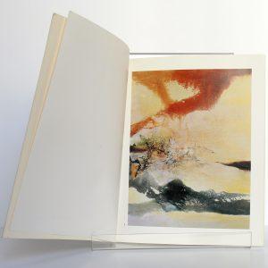 Zao Wou-ki Catalogue. Préface par Jacques CHESSEX. Galerie Jan Krugier 1990. Pages intérieures.