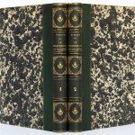 Le barreau au XIXe siècle, M.O. Pinard. Pagnerre Libraire-Éditeur, 1864-1865. 2 volumes. Reliures : dos et plats.