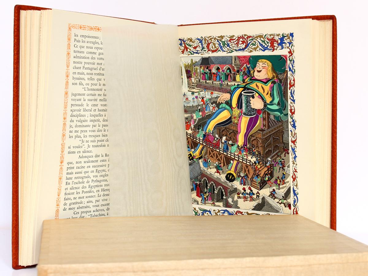 Cinquiesme Livre, François Rabelais. Le Chant des Sphères, 1966. Pages intérieures 1.