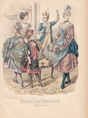 Journal des Demoiselles 4658bis 1er janvier 1888