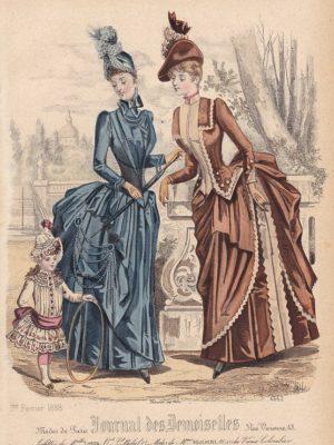 Journal des Demoiselles 1er février 1888. 4662.