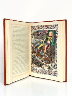 Le Cinquiesme Livre, Rabelais. Illustrations de Jean Gradassi. Éditions Le Chant des Sphères, 1966. Pages intérieures 1.