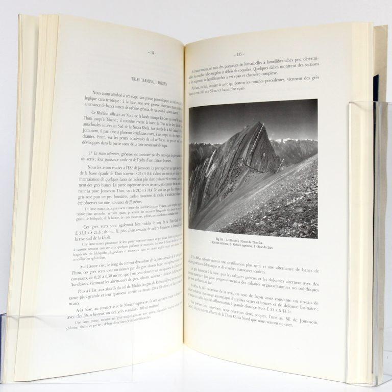 Recherches géologiques dans l'Himalaya du Népal, Région de la Thakkhola. CNRS, 1971. Pages intérieures 2.