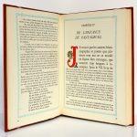 Pantagruel, Rabelais. Éditions Le Chant des Sphères, 1964. Pages intérieures 1.