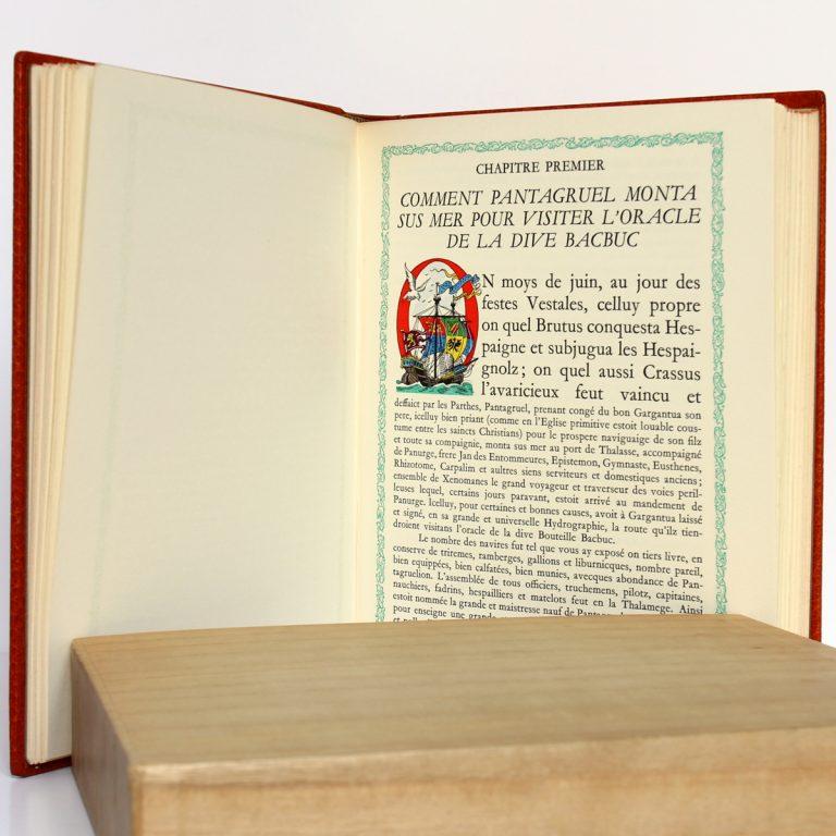 Le Quart Livre, François Rabelais. Le Chant des Sphères 1965. Pages intérieures 1.