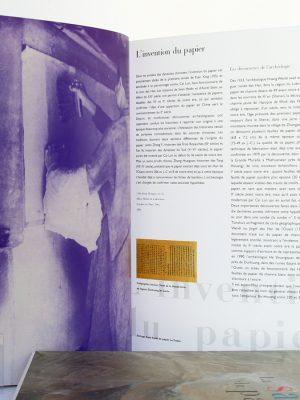 La Saga du papier, P-M de Biasi, K. DOUPLITZKY. Arte Éditions / Éditions Luc Pire, 1999. Pages intérieures 1.