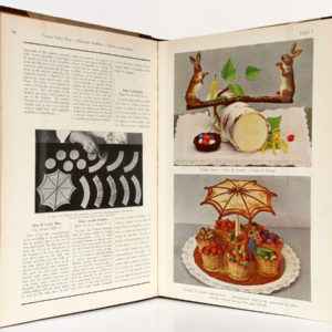 Theory and Practice of the Confectioner, J.M. Erich WEBER. Vers 1929. Pages intérieures 1.