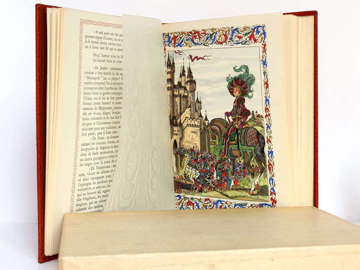 Le Tiers Livre, Rabelais. Le Chant des Sphères, 1964. Pages intérieures 1.
