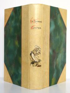 Contes de La Fontaine. Garnier Frères, 1931. Reliure : dos et plats.