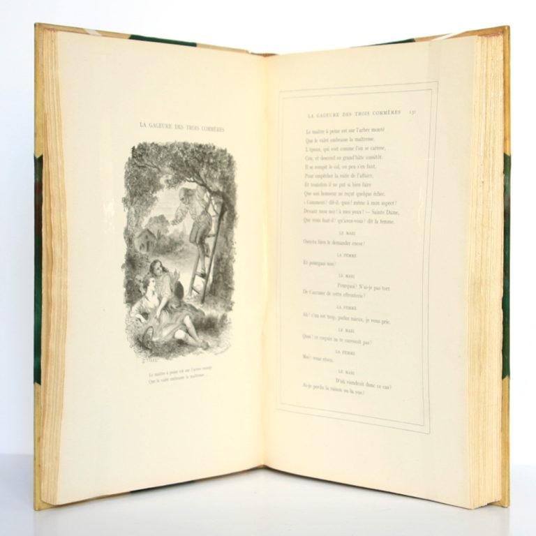 Contes de La Fontaine. Garnier Frères, 1931. Pages intérieures.