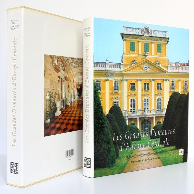 Les Grandes Demeures d'Europe centrale, Michael PRATT. Abbeville, 1991. Livre et emboîtage.