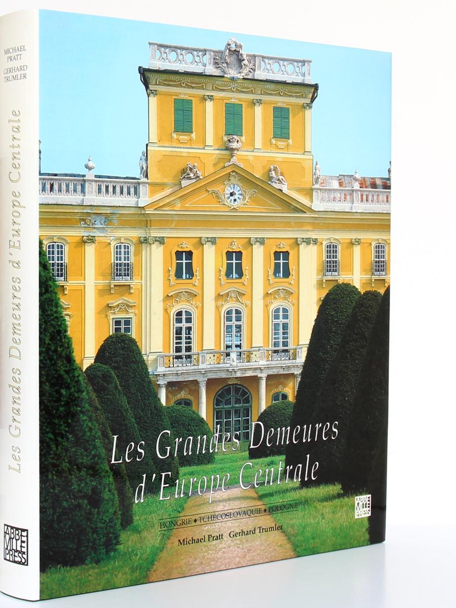 Les Grandes Demeures d'Europe centrale, Michael PRATT. Abbeville, 1991. Couverture.