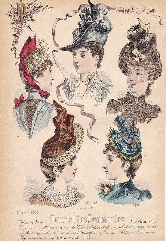 Journal des Demoiselles 1er avril 1888. 4671.
