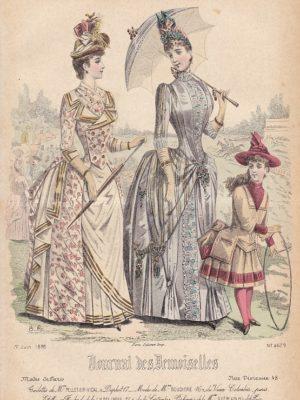 Journal des Demoiselles 1er juin 1888. 4679.