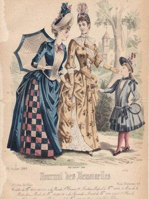 Journal des Demoiselles 1er juillet 1888. 4684.