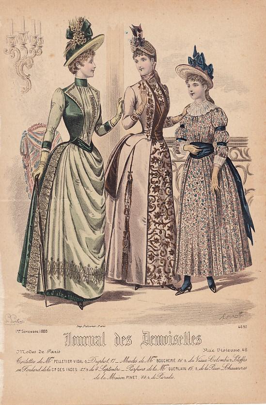 Journal des Demoiselles 1er septembre 1888. 4692.
