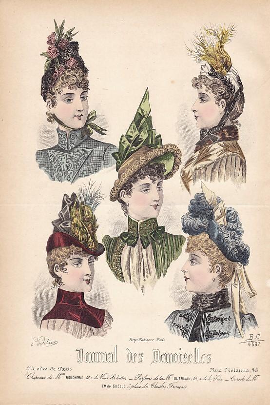 Journal des Demoiselles 1er octobre 1888. 4697.