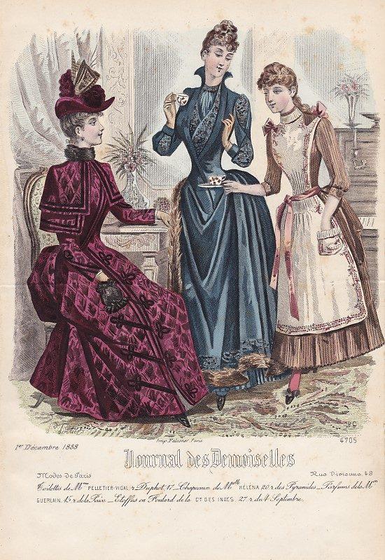 Journal des Demoiselles 1er décembre 1888. 4705.