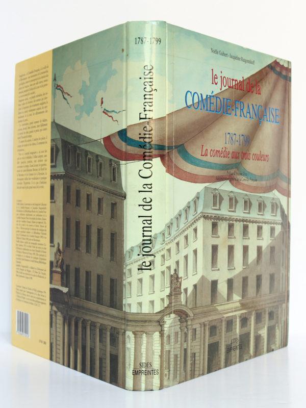 Le Journal de la Comédie-Française 1787-1799, Noëlle Guibert, Jacqueline Razgonnikoff. SIDES, 1989. Couverture : dos et plats.