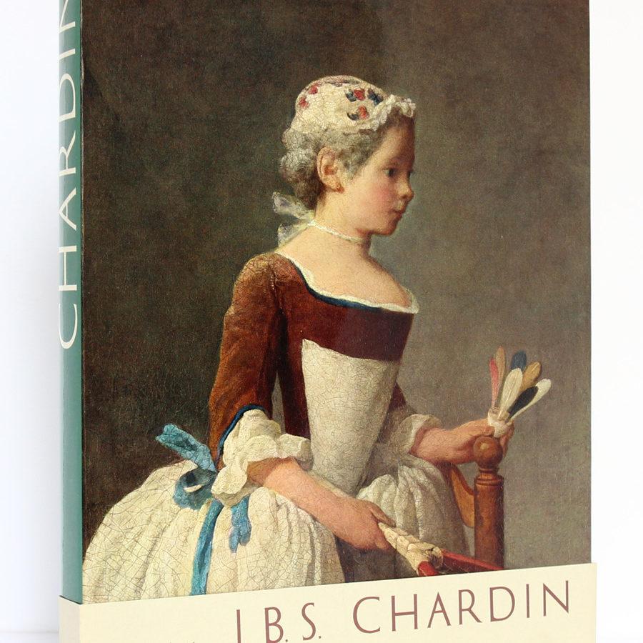 Chardin, Georges Wildenstein. Manesse, 1963. Couverture + bande.