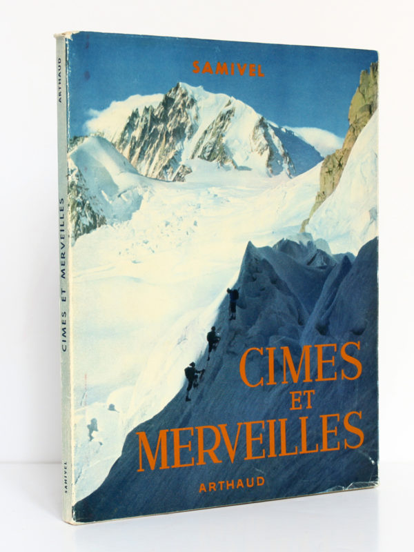 Cimes et Merveilles, Samivel. Arthaud, 1952. Couverture.