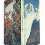 Cimes et Merveilles, Samivel. Arthaud, 1952. Couverture : plats et dos.