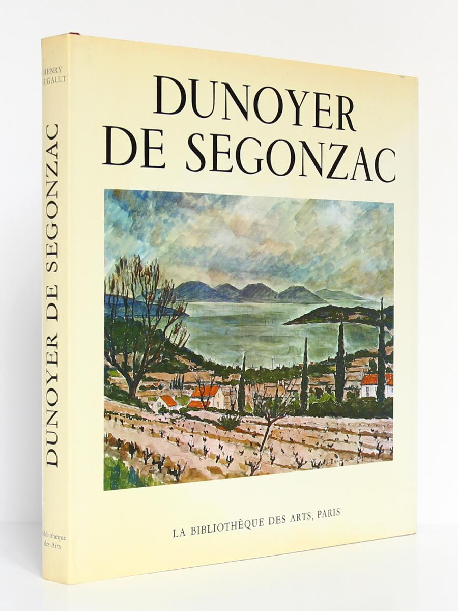 Dunoyer de Ségonzac, Henry Hugault. Bibliothèque des Arts, 1973. Couverture.
