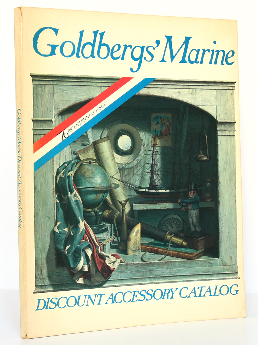 Goldbergs' Marine. Discount Accessory Catalog. 76 Bicentennial Issue. 1975. Couverture.