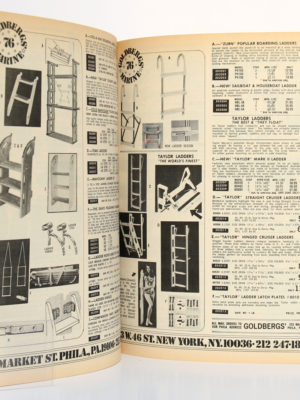 Goldbergs' Marine. Discount Accessory Catalog. 76 Bicentennial Issue. 1975. Pages intérieures.