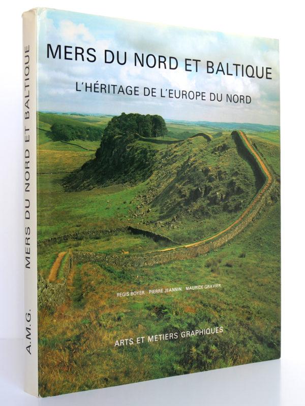 Mers du Nord et Baltique. L'héritage de l'Europe du Nord. Régis BOYER, Pierre JEANNIN, Maurice GRAVIER. AMG 1981. Couverture.