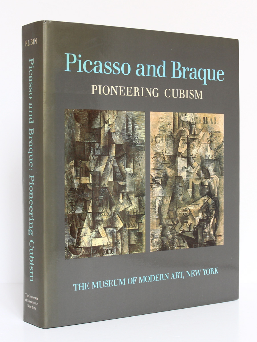 Picasso and Braque, William Rubin. The Museum of Modern Art, 1989. Couverture.