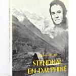Stendhal en Dauphiné, Vittorio del Litto. Hachette, 1968. Couverture.