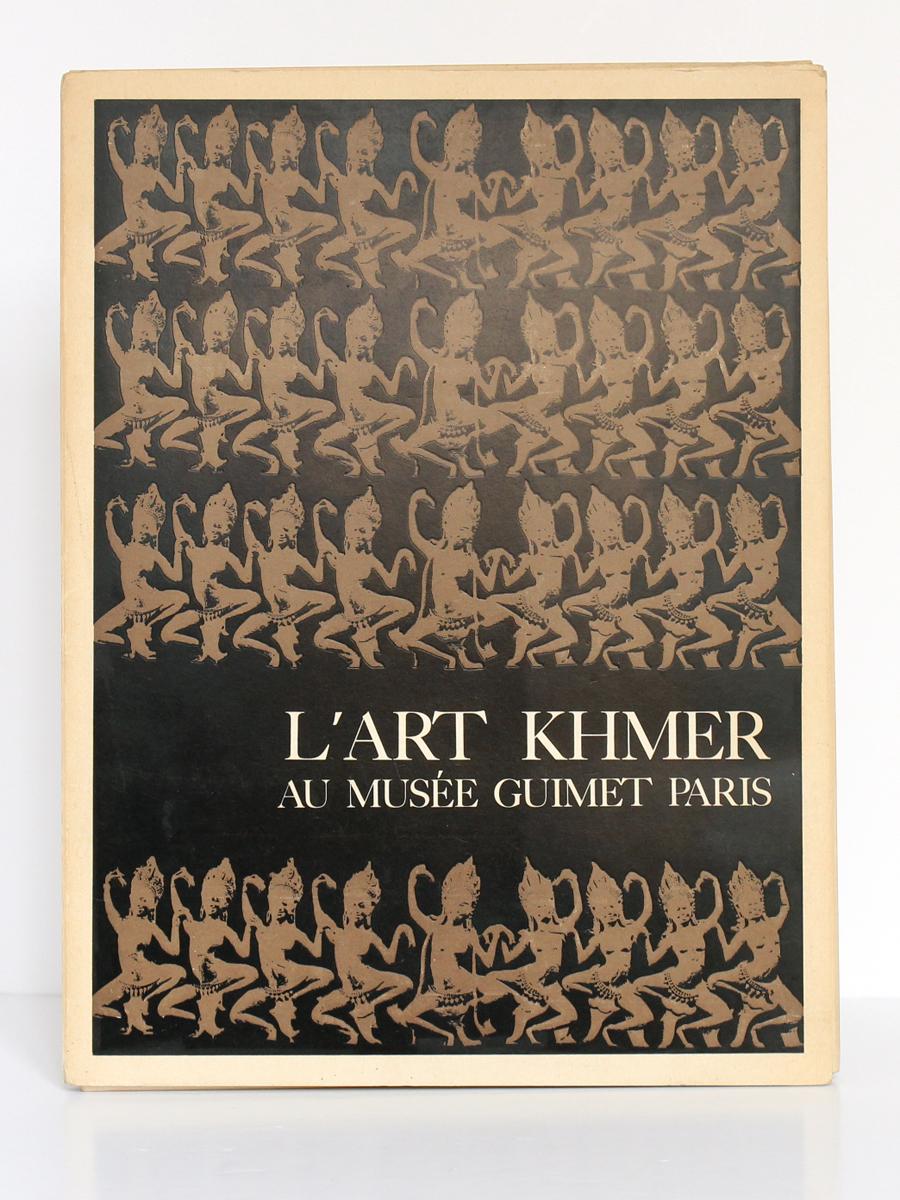 L'Art Khmer au musée Guimet Paris, Jeannine AUBOYER. Manesse, 1966. Couverture.