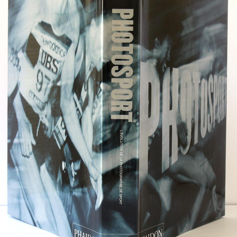 Photosport. Phaidon, 2000. Jaquette : plats et dos.