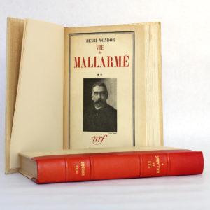 La vie de Mallarmé, Henri Mondor. nrf / Gallimard, 1941-1942. Page titre du volume 2.