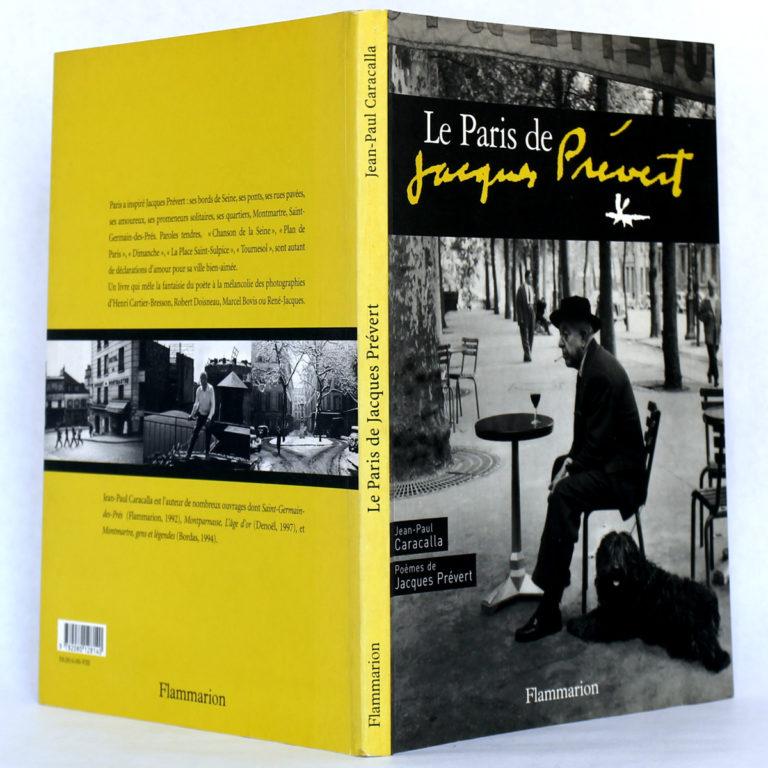 Le Paris de Jacques Prévert. Jean-Paul CARACALLA.