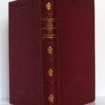 L'École des Robinsons - Le Rayon vert, Jules Verne. Bibliothèque d'Éducation et de Récréation J. Hetzel & Cie [1882]. Reliure : plats et dos.