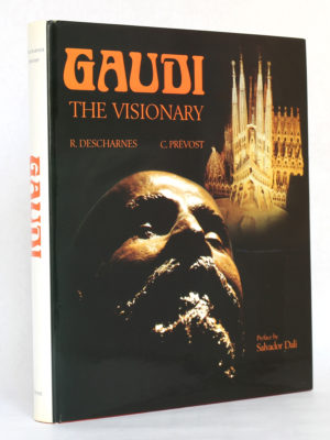 Gaudi the Visionary, Robert DESCHARNES et Clovis PRÉVOST. Dorset Press, 1989. Couverture.