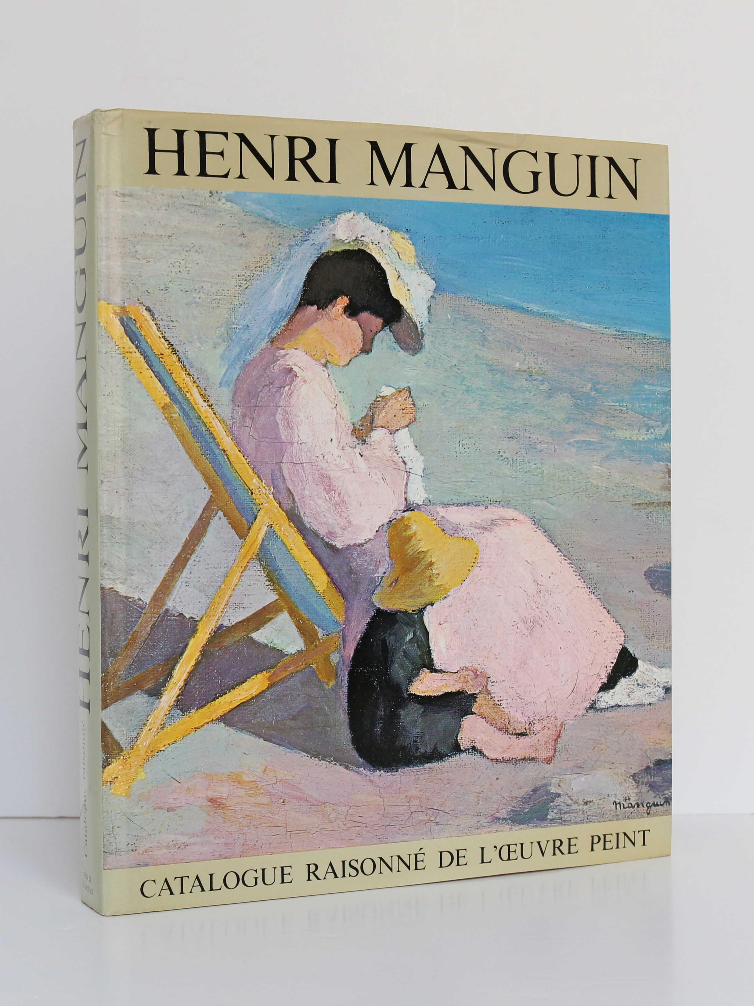 Henri Manguin, catalogue raisonné de l'œuvre peint. Ides et Calendes, 1980. Couverture.