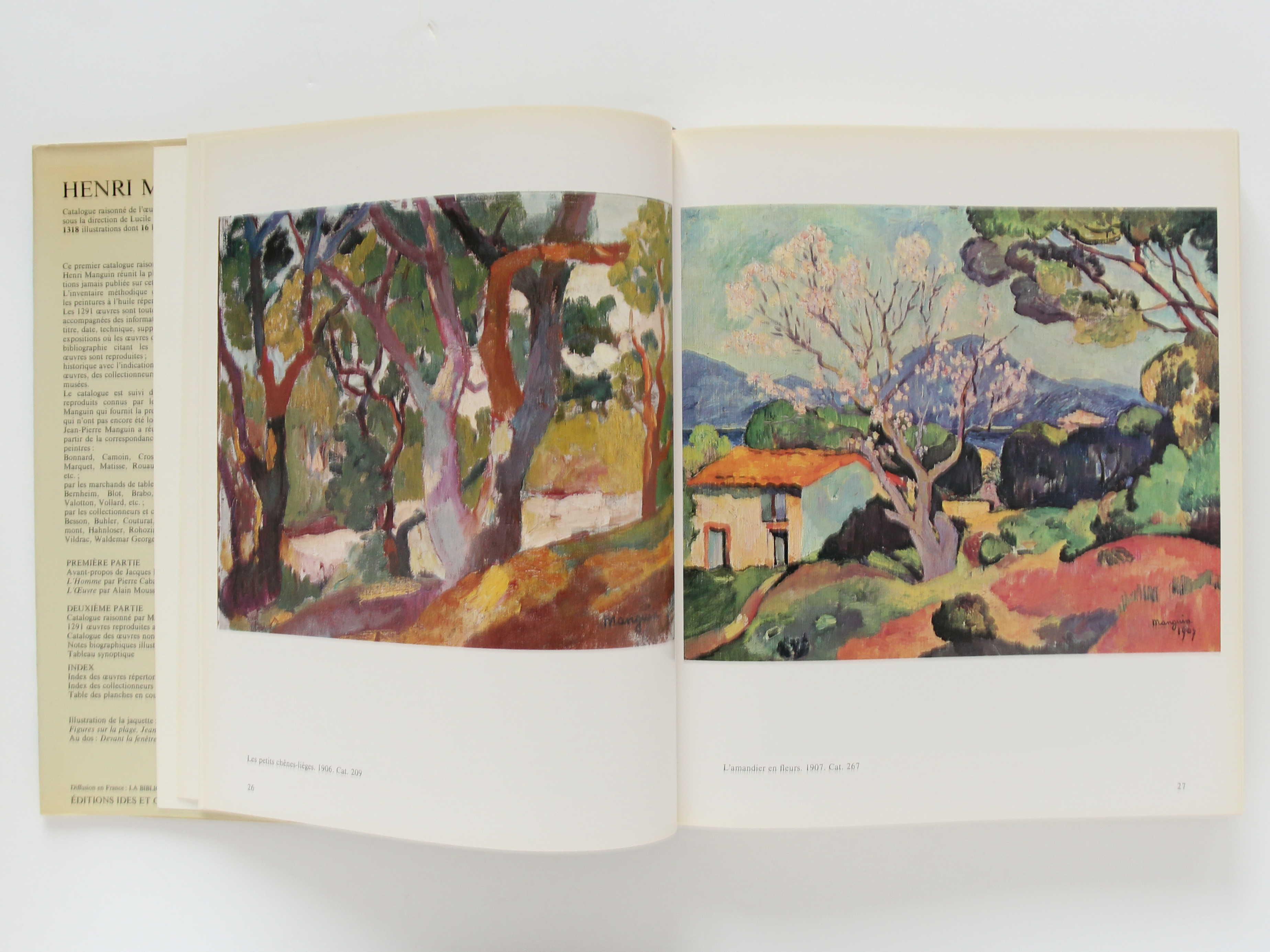 Henri Manguin, catalogue raisonné de l'œuvre peint. Ides et Calendes, 1980. Pages intérieures 1.