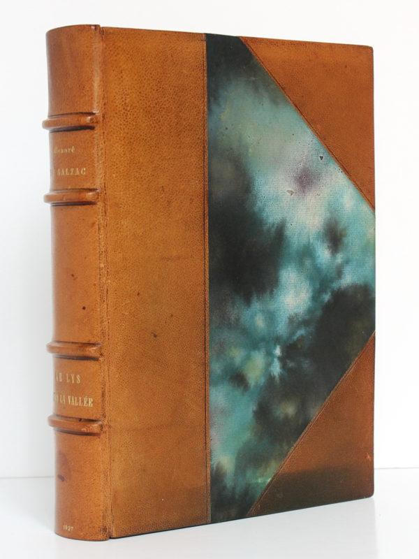 Le Lys dans la vallée, Balzac. Piazza Éditeur / Le Livre français, 1927. Reliure.